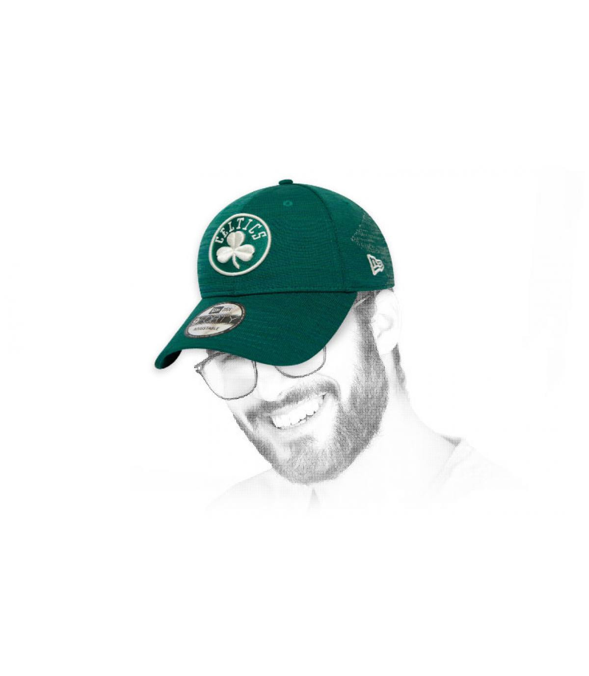 Cap Celtics grün