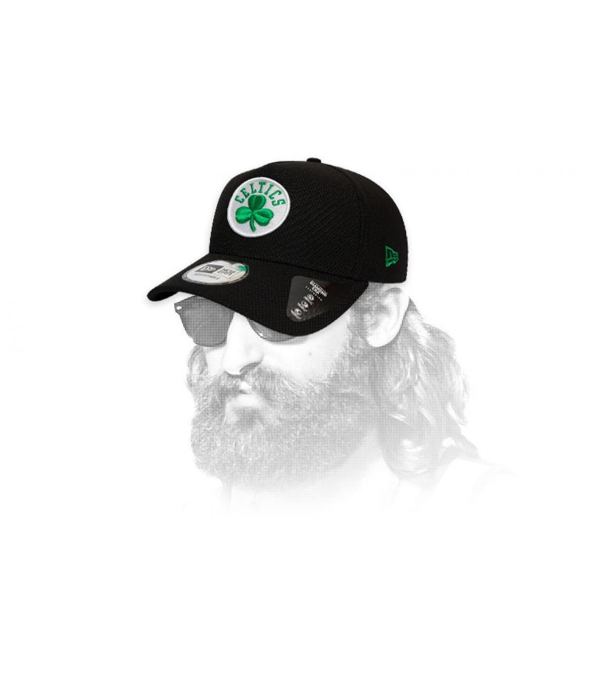 Cap Celtics schwarz Logo