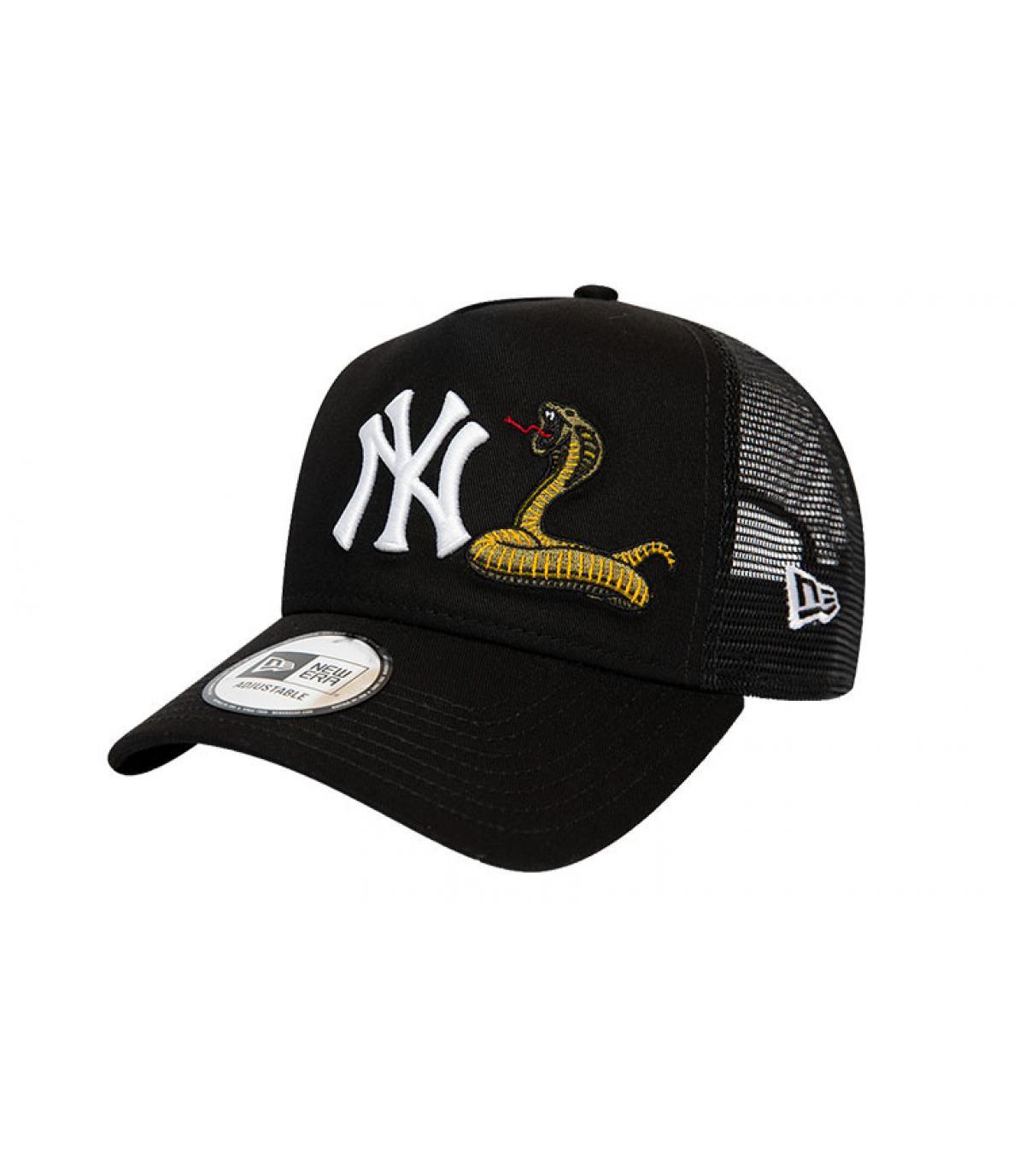 Details Trucker MLB Twine NY black - Abbildung 2