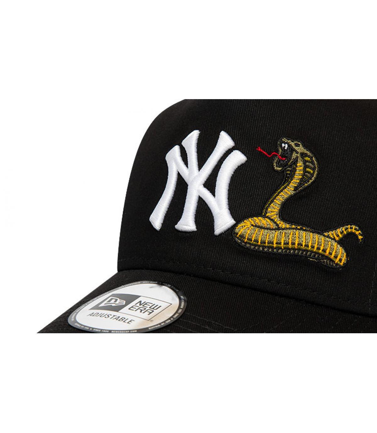 Details Trucker MLB Twine NY black - Abbildung 3