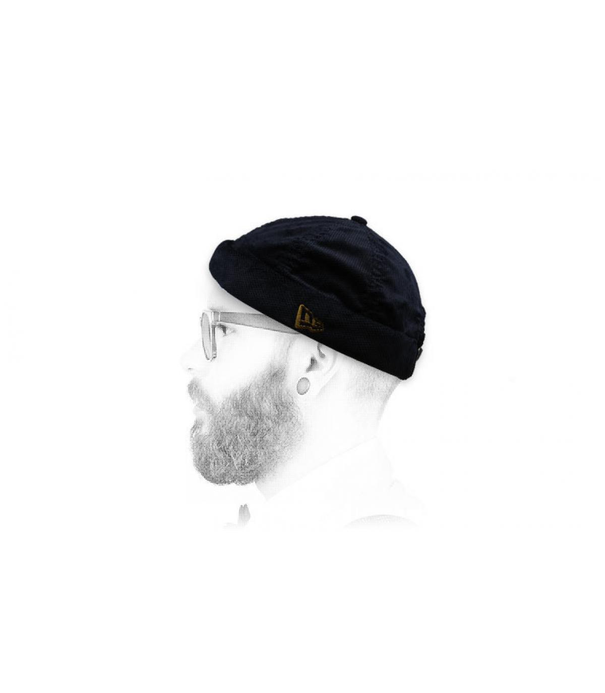 Docker Mütze schwarz New Era