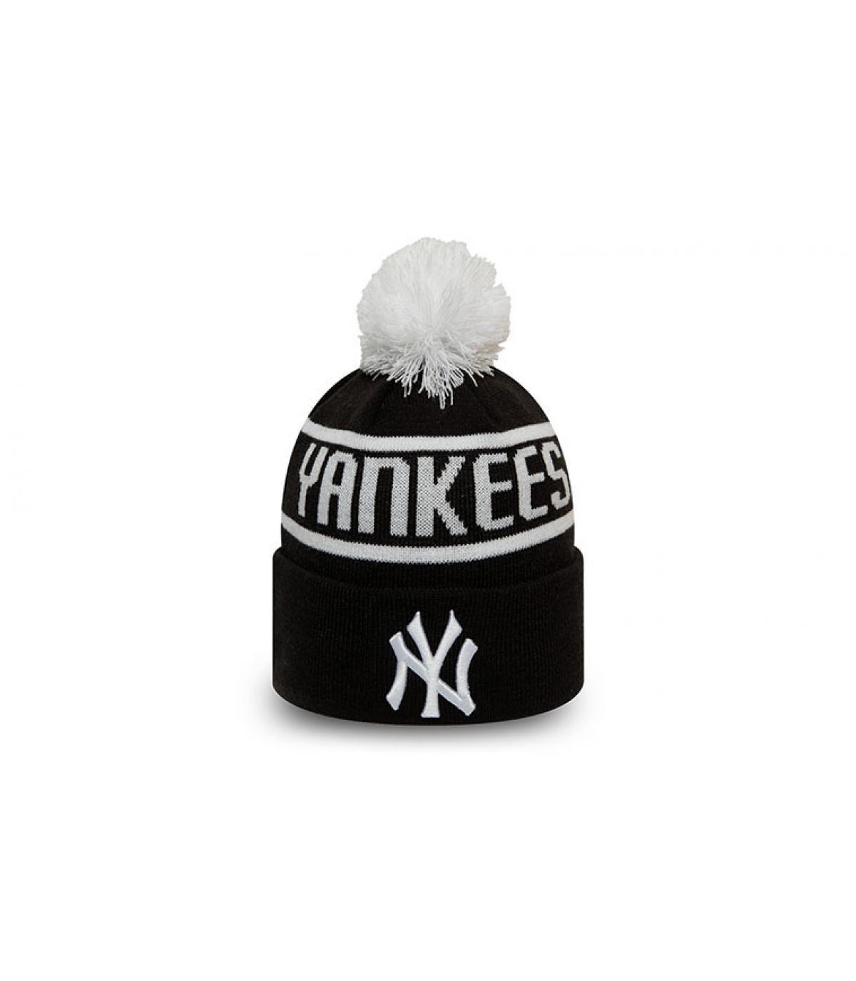 Kindermütze Yankees schwarz