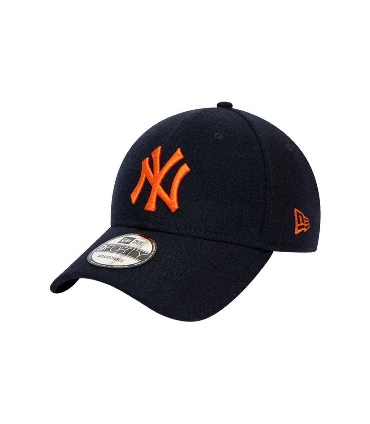 Details Cap Kids League Ess NY 940 black orange - Abbildung 2
