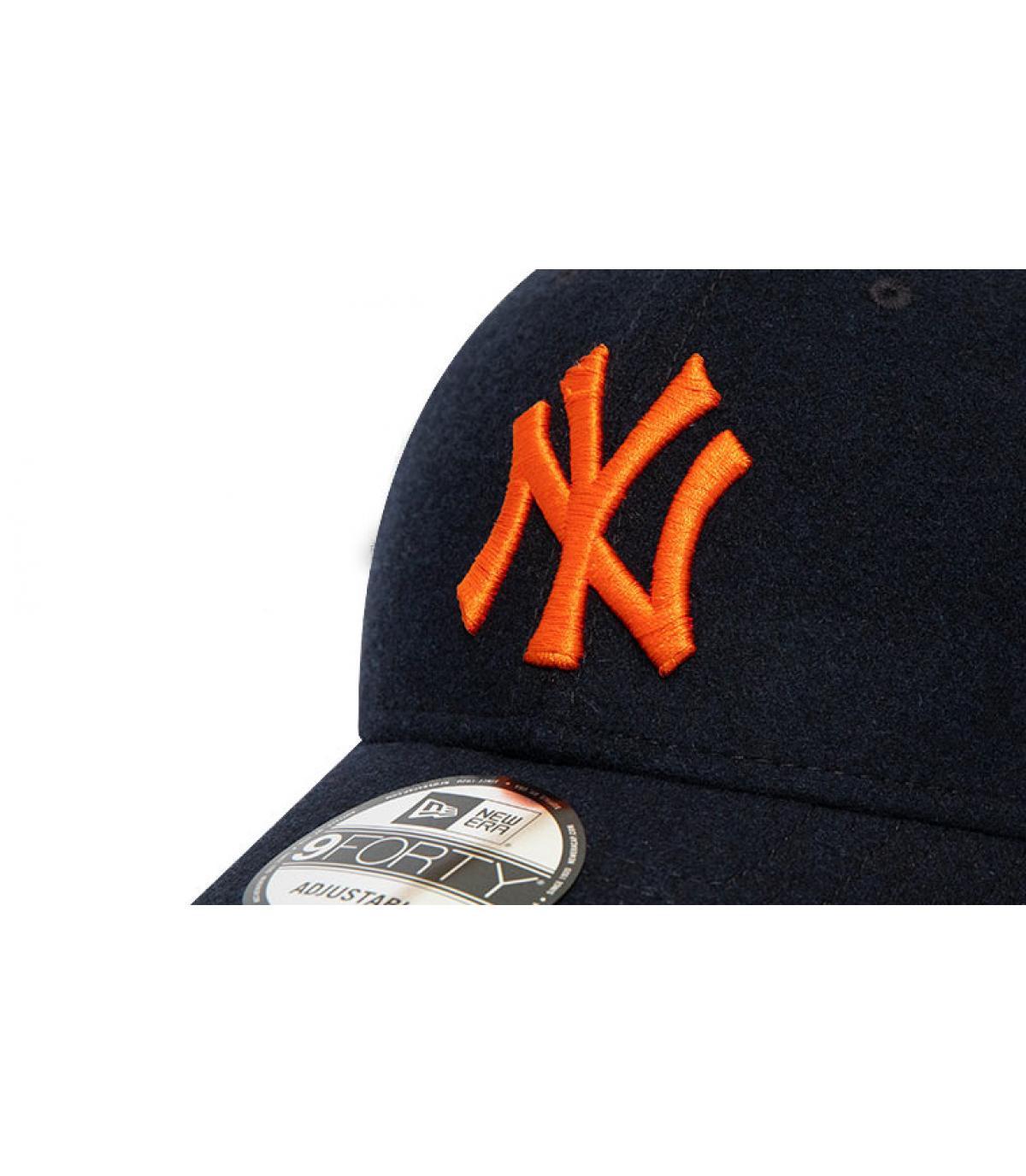 Details Cap Kids League Ess NY 940 black orange - Abbildung 3