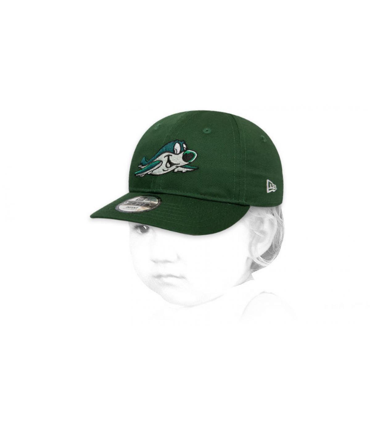 Baby Cap Jets grün