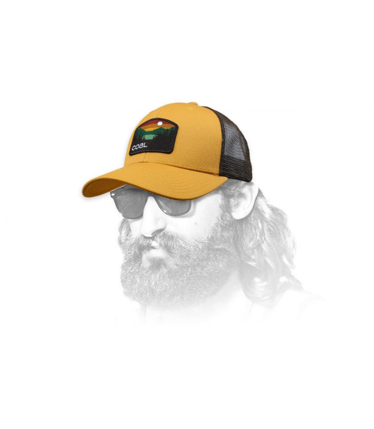 Trucker Cap beige Coal