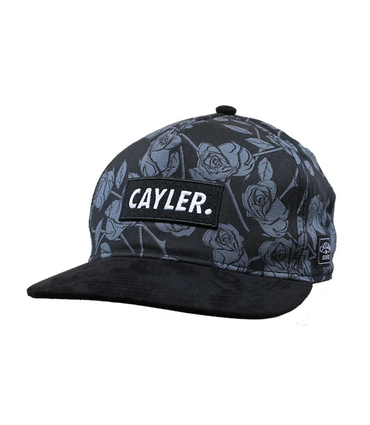 Snapback Rosen schwarz Cayler