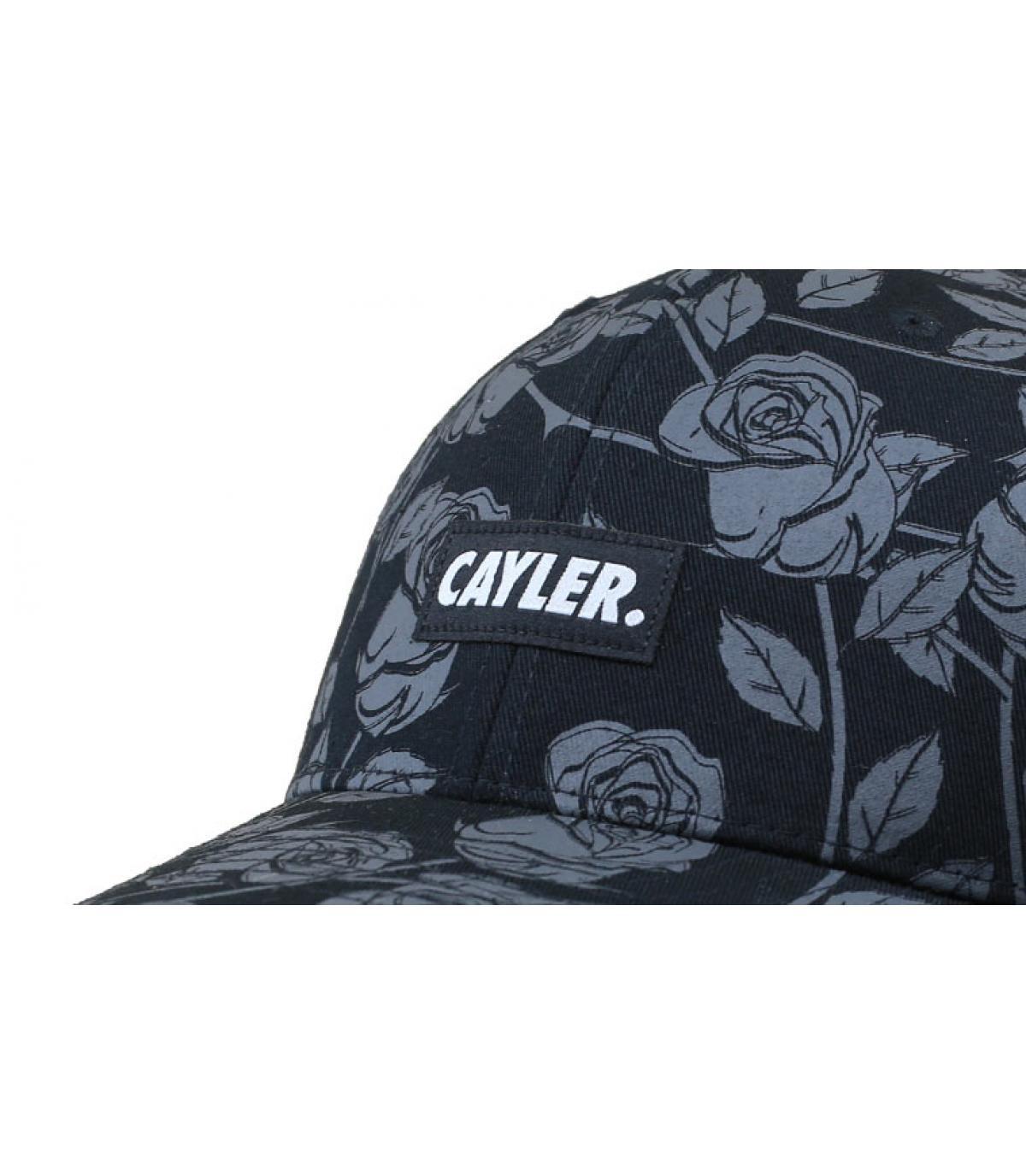 Details Statement Trucker Black Roses - Abbildung 3