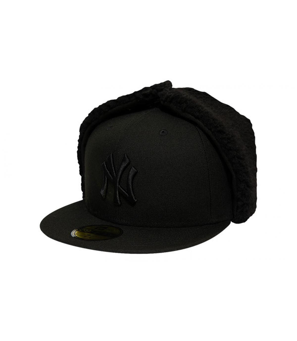 Details Cap League Ess Dogear NY 5950 black black - Abbildung 2