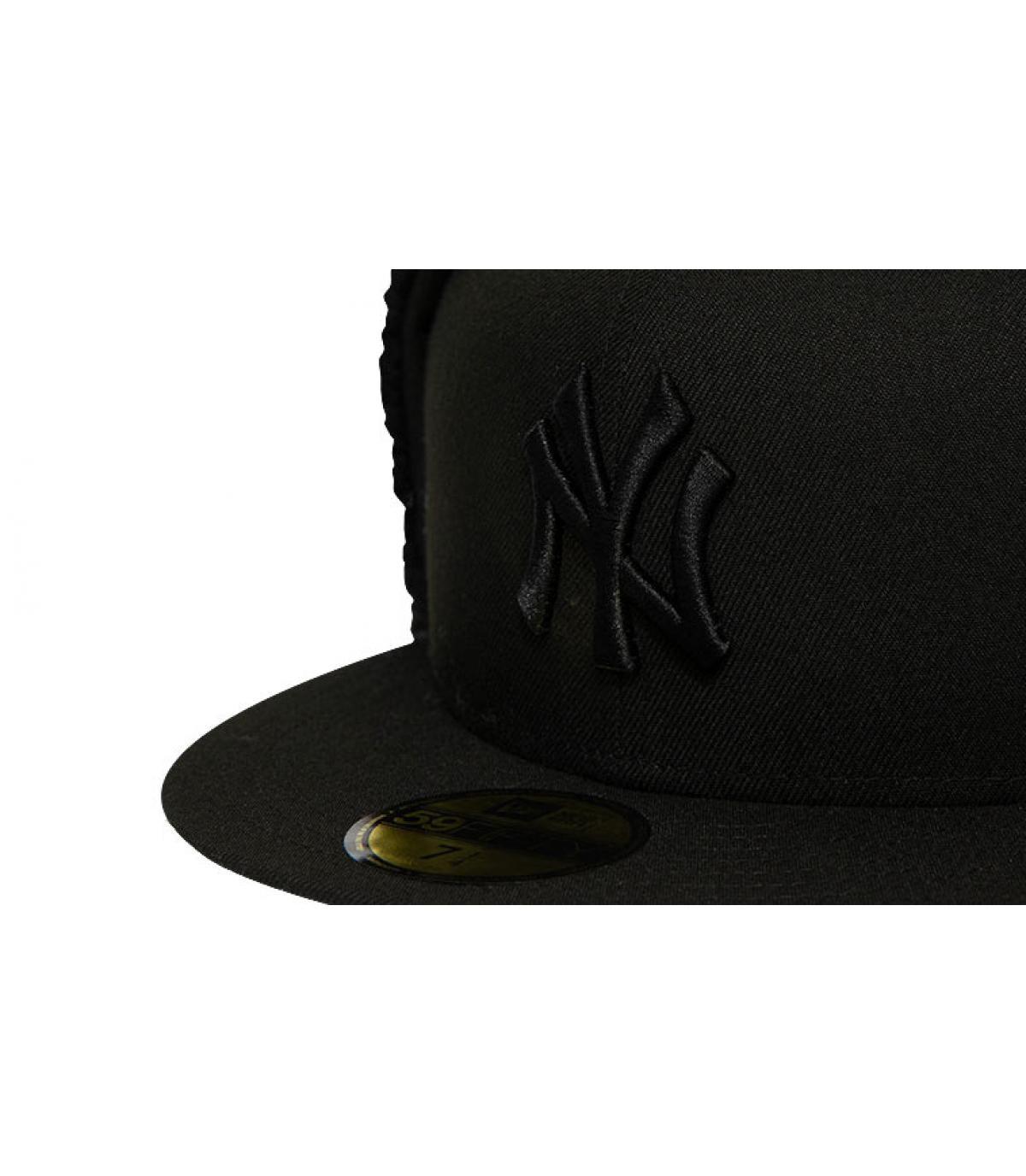 Details Cap League Ess Dogear NY 5950 black black - Abbildung 3