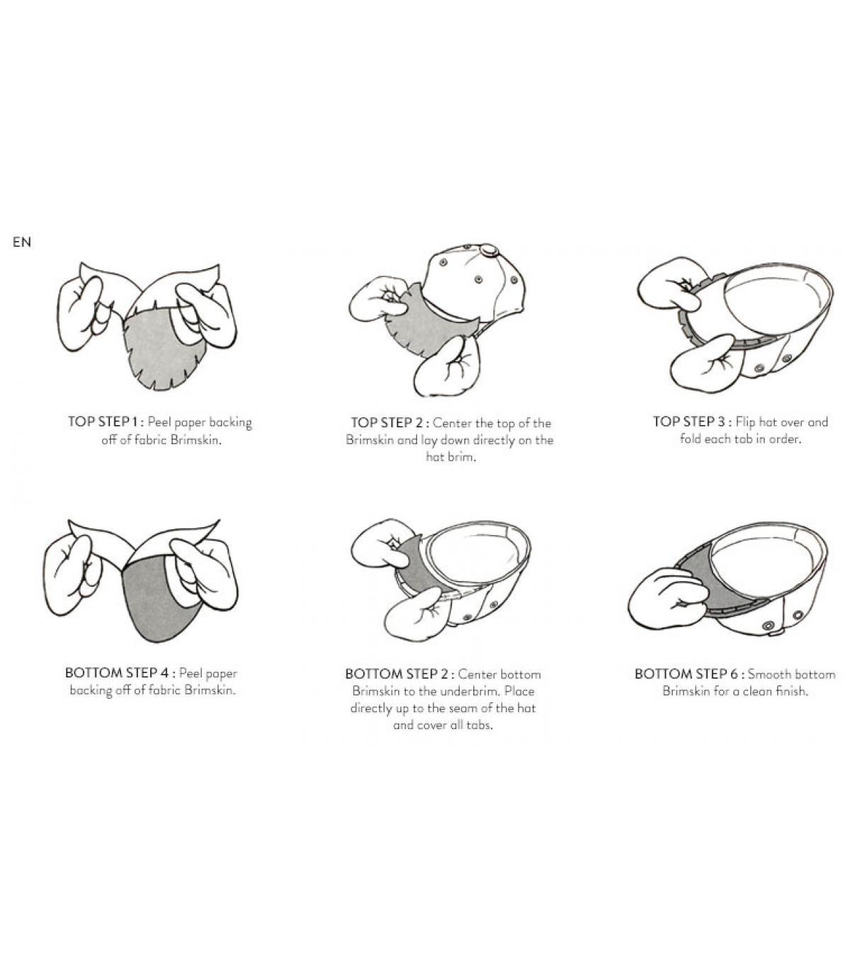 Details Birds of paradis premium Brimskins Schirm - Abbildung 4