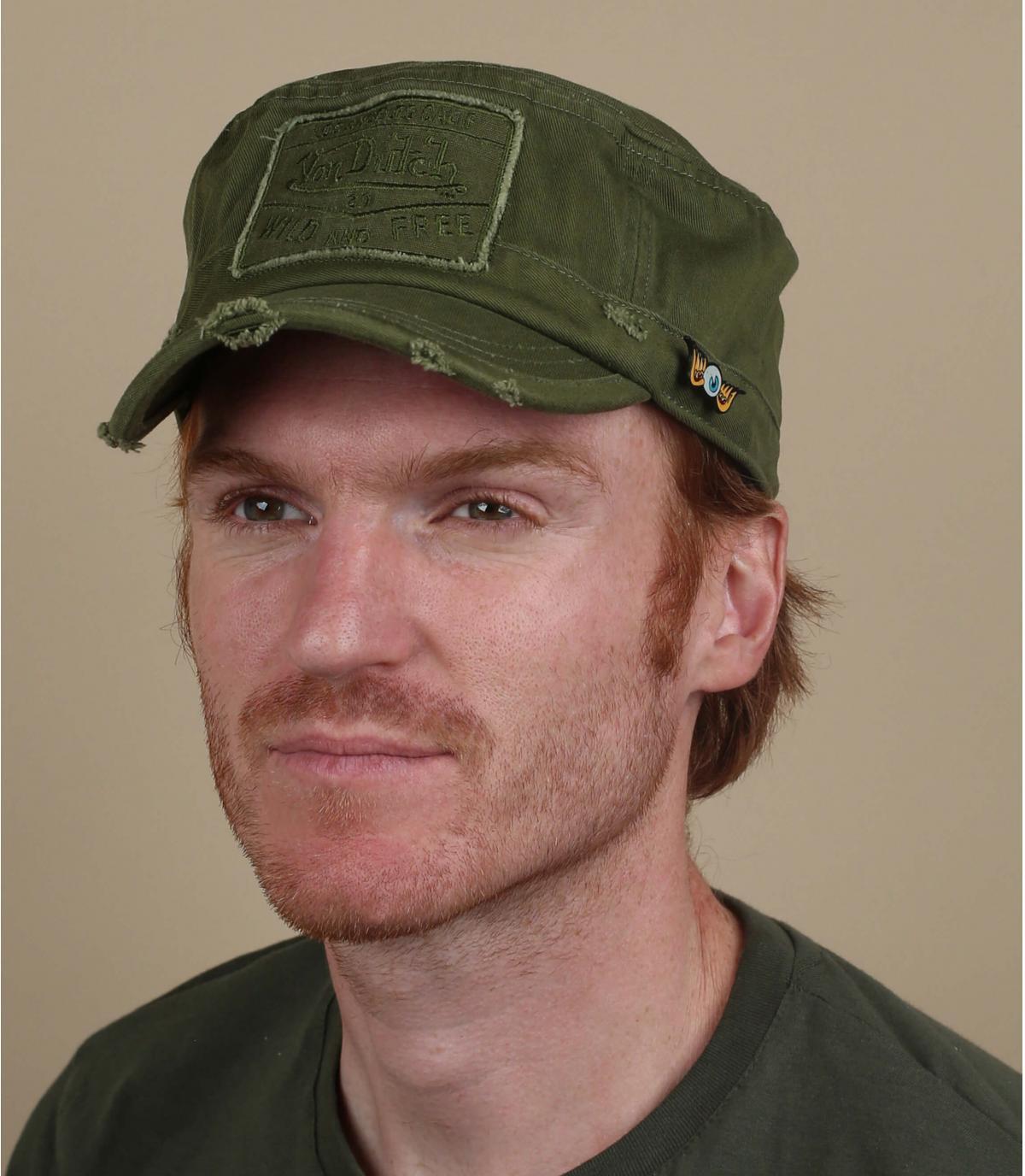 Army Cap grün Von Dutch