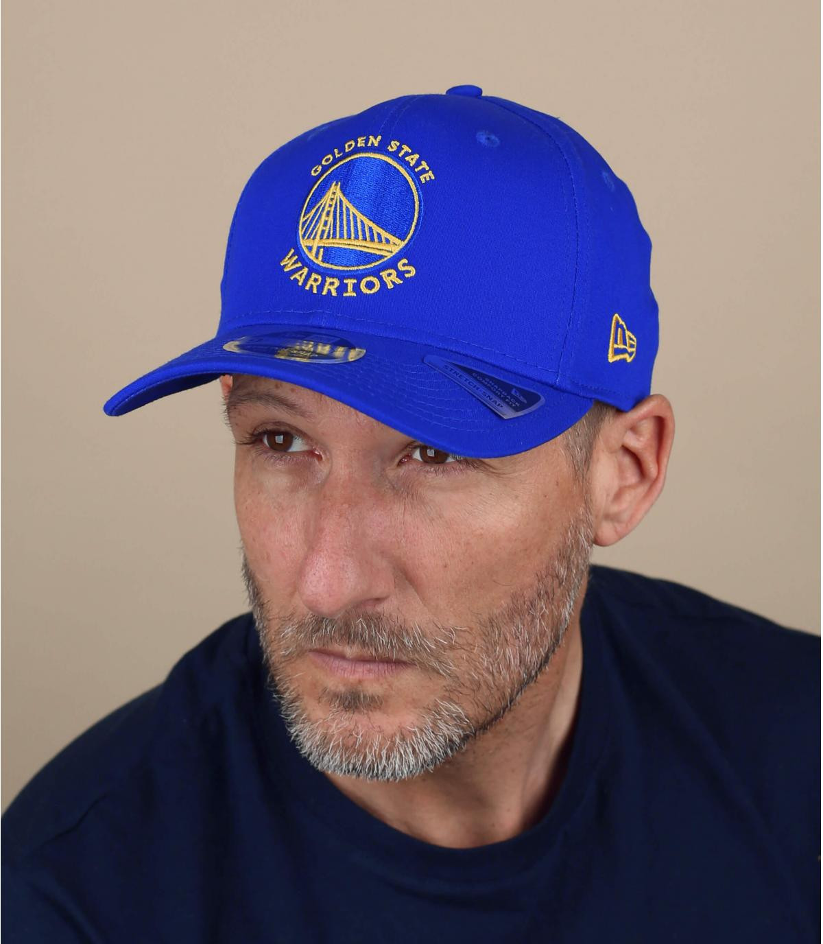Cap Warriors blau