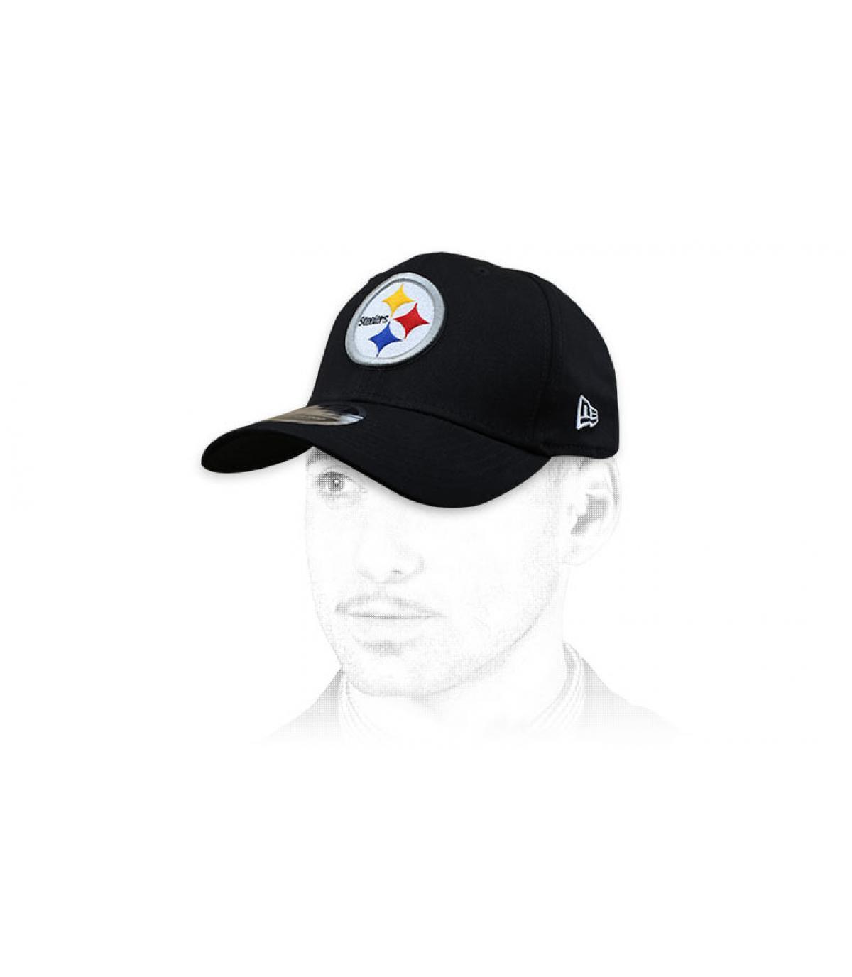 Cap Steelers schwarz