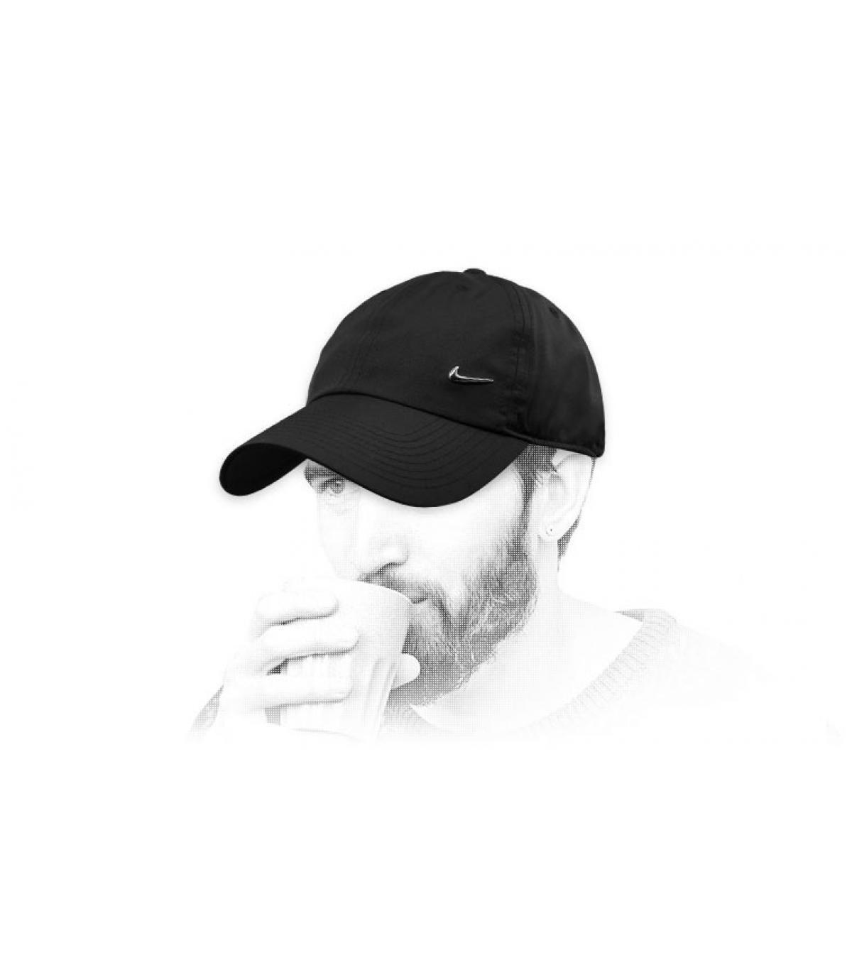 Schwarze Nike Cap