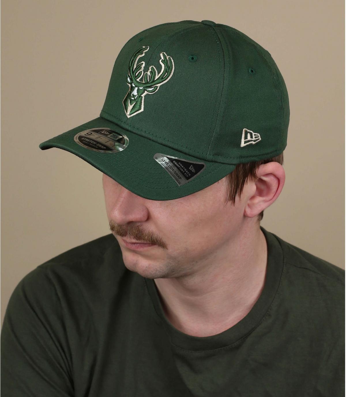 Milwaukee Bucks Cap grün