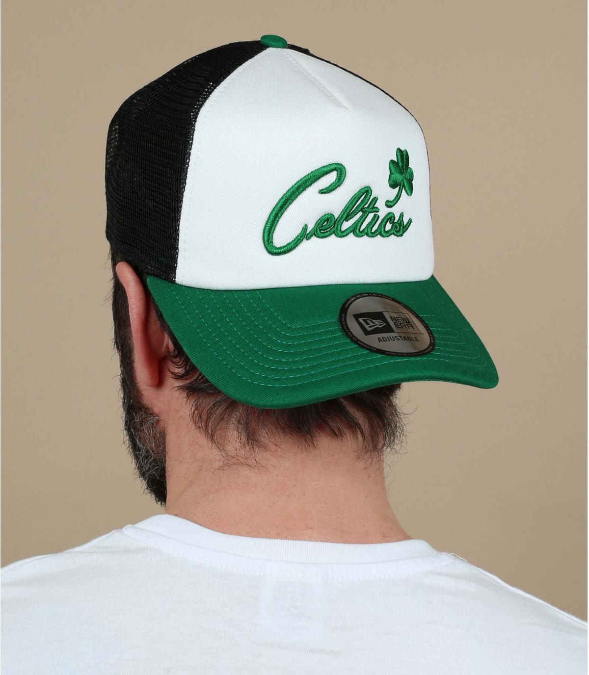 Trucker Celtics weiß grün