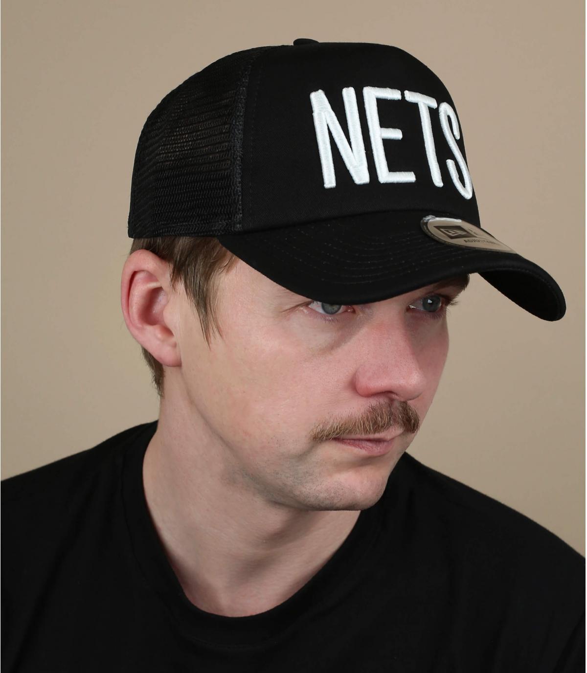 Trucker Nets schwarz