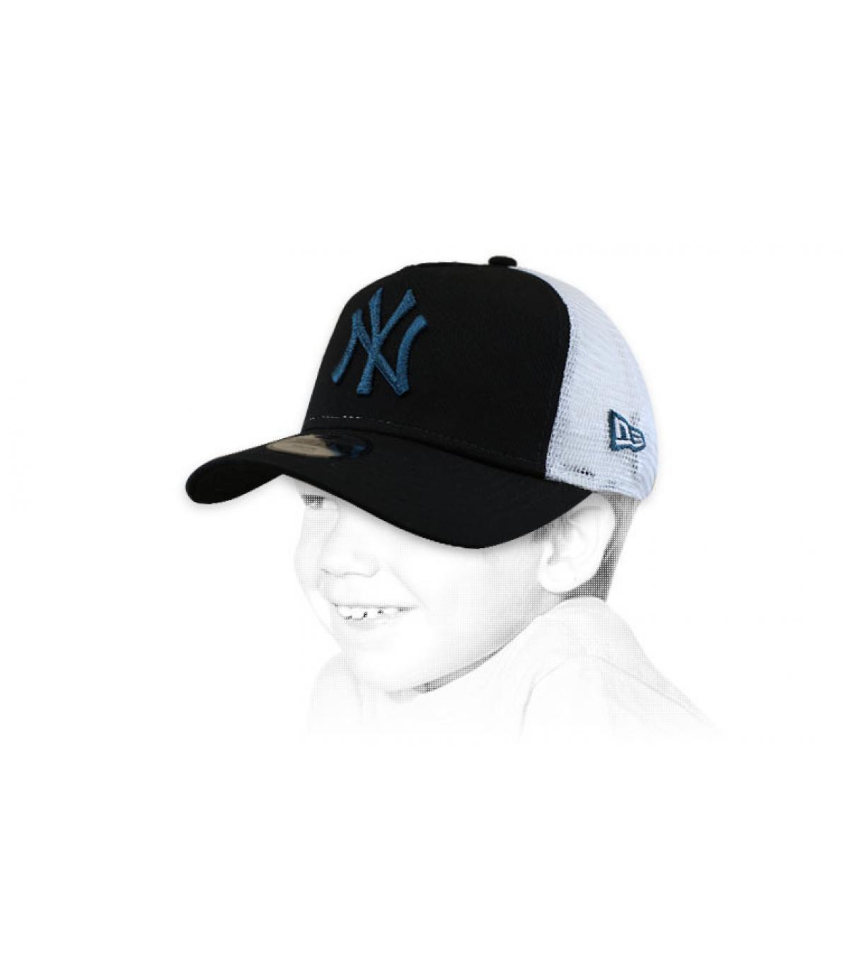 Kinder Trucker NY schwarz