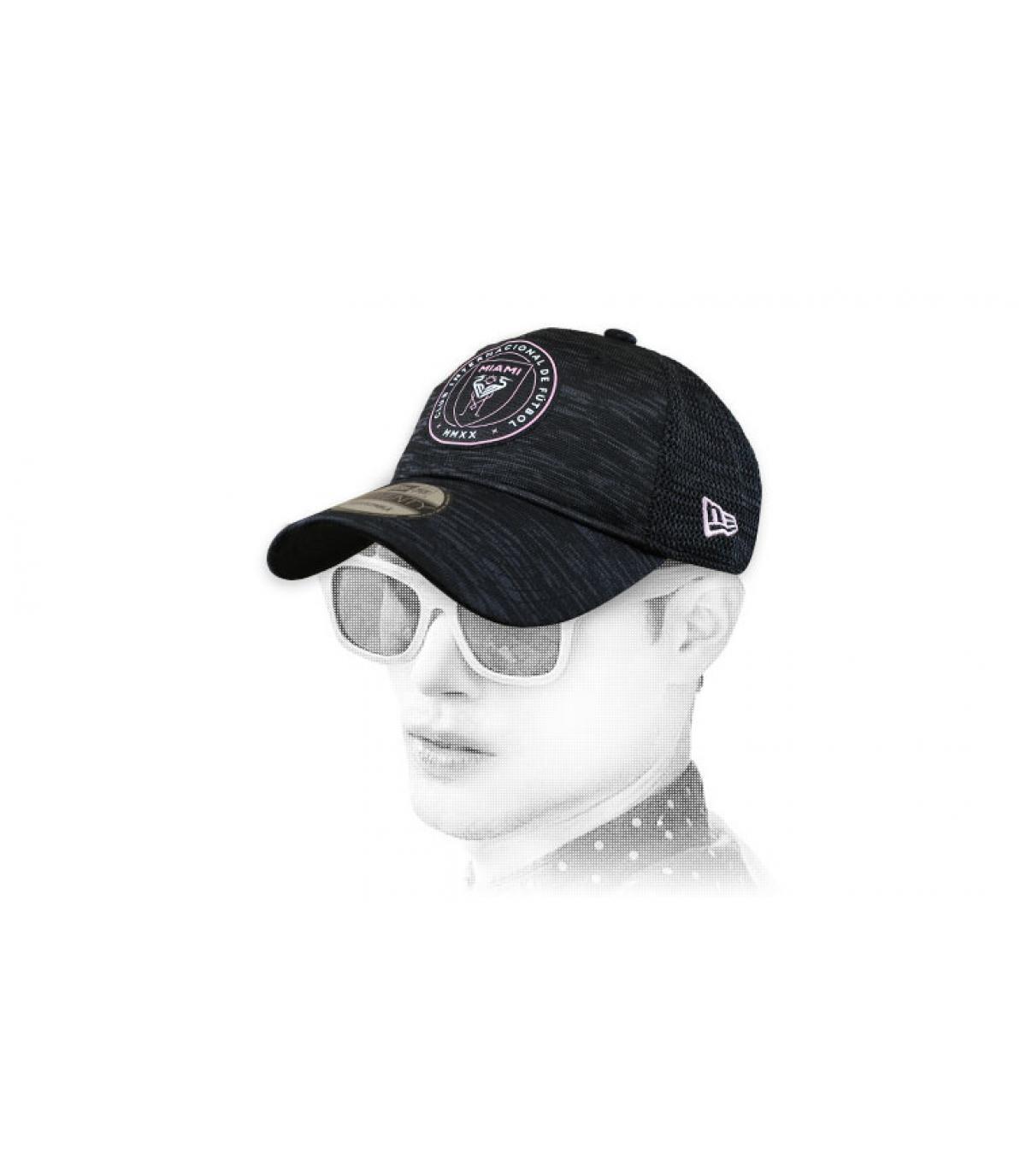 Cap Inter Miami schwarz