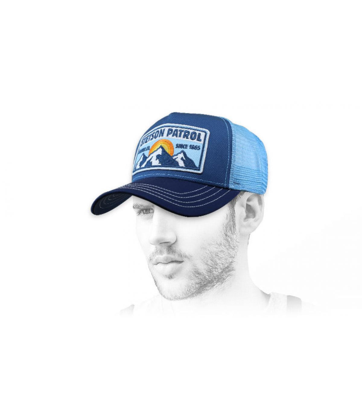 Trucker Stetson blau