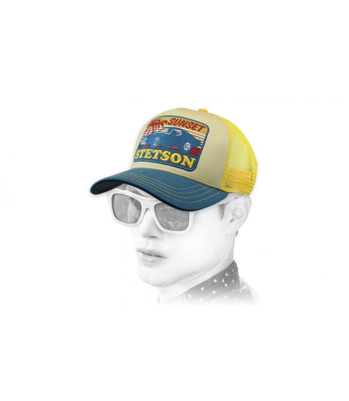 Trucker Stetson gelb