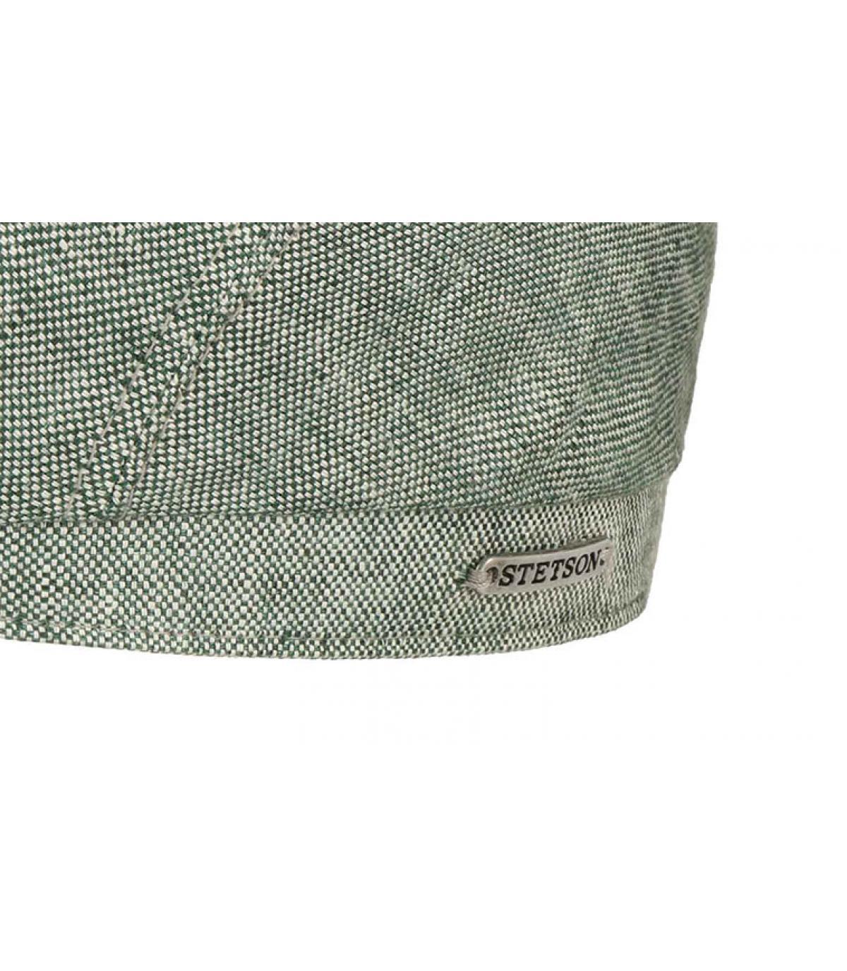 Details 6 Panel Cap Linen green - Abbildung 3