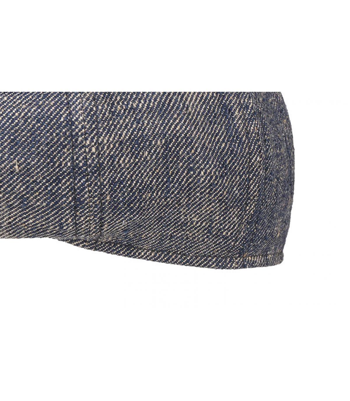 Details 8 Panel Linen Silk blue - Abbildung 3