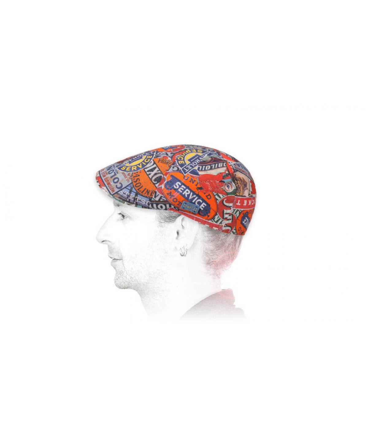 Duckbill Cap bedruckt Stetson