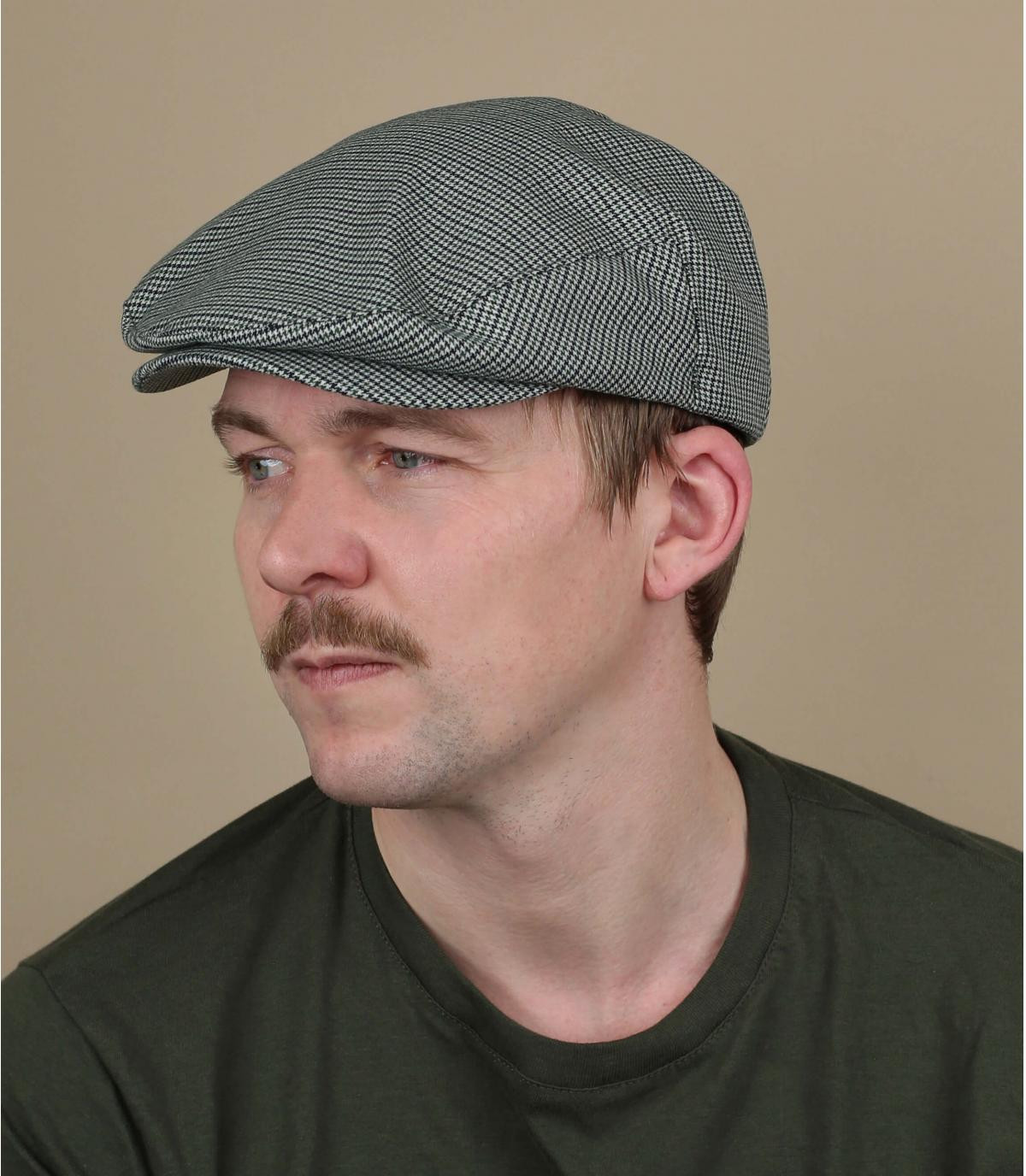Flatcap grau Brixton