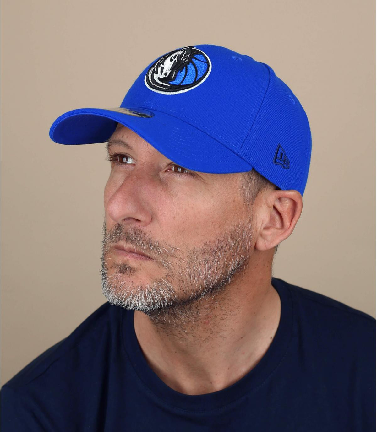 Cap Curve Yankees blau
