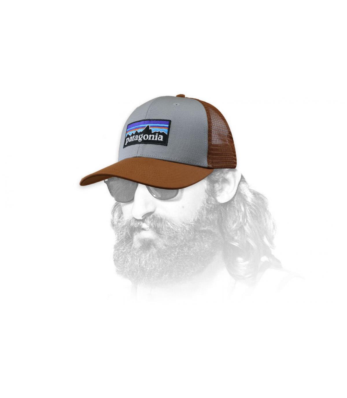 Trucker Patagonia grau