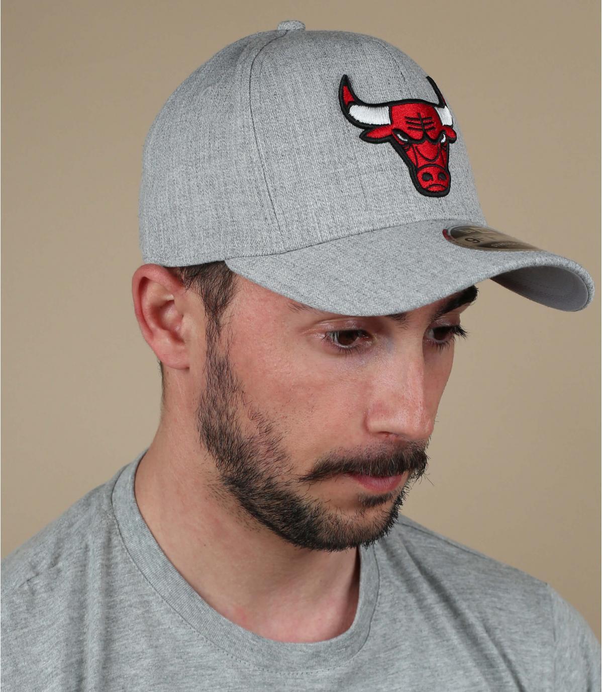 Cap Bulls grau