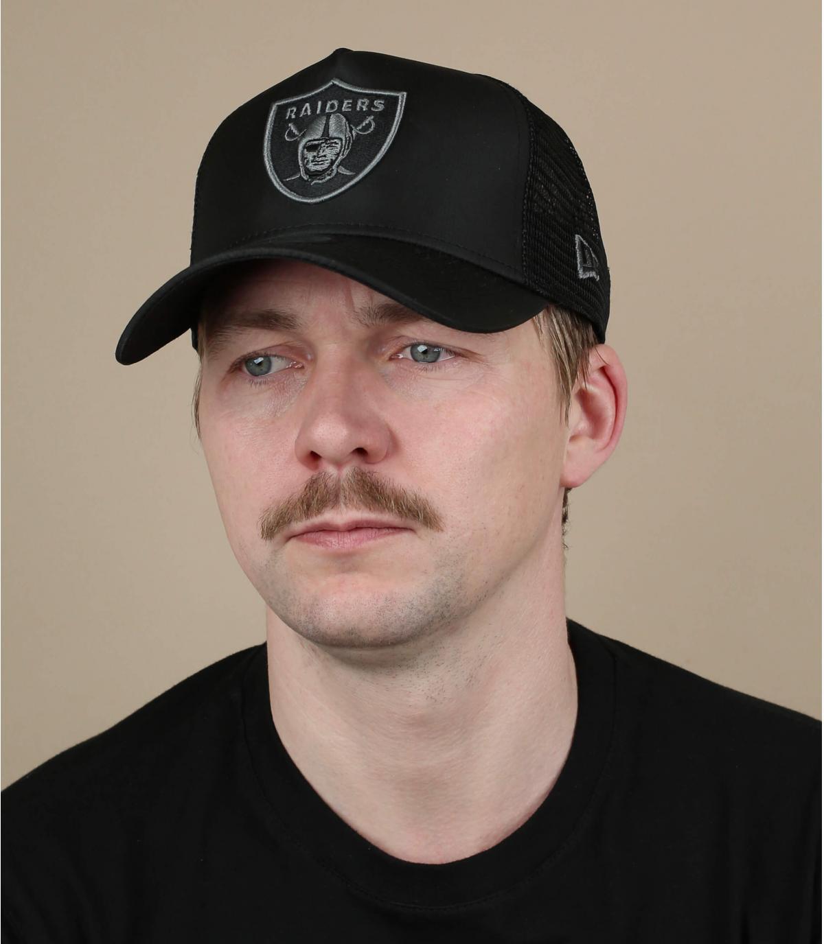 Trucker Raiders schwarz