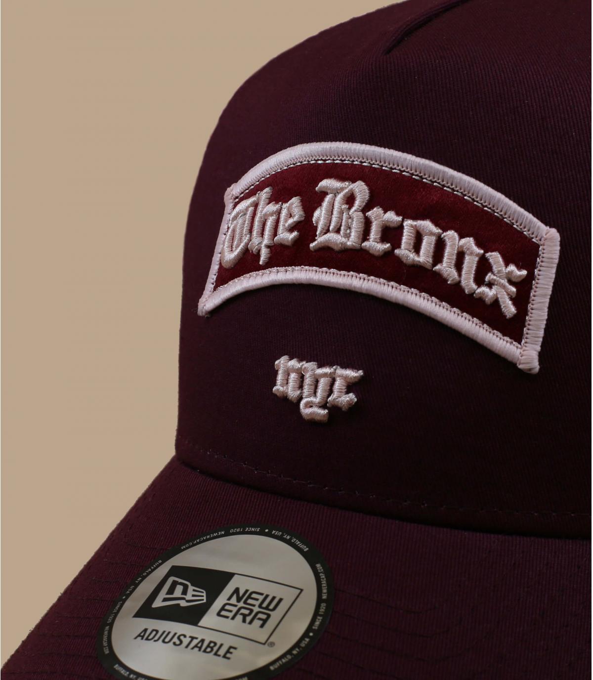 Details Trucker Borough Bronx burgundy - Abbildung 2