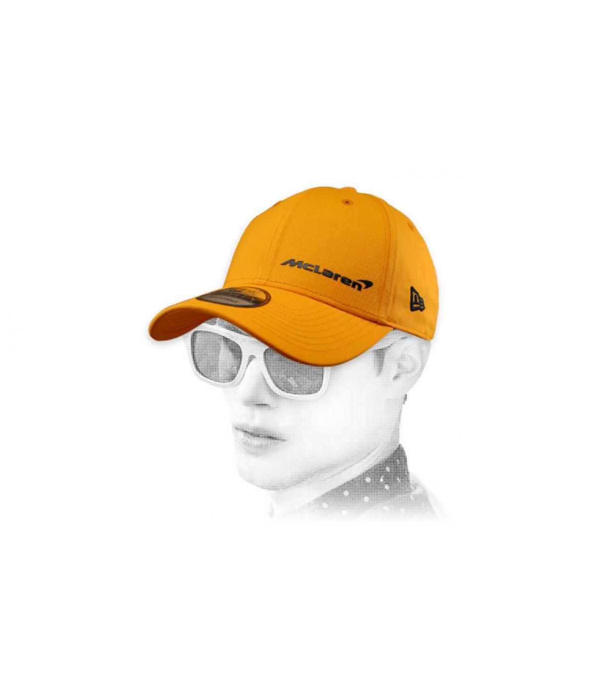 Cap McLaren gelb