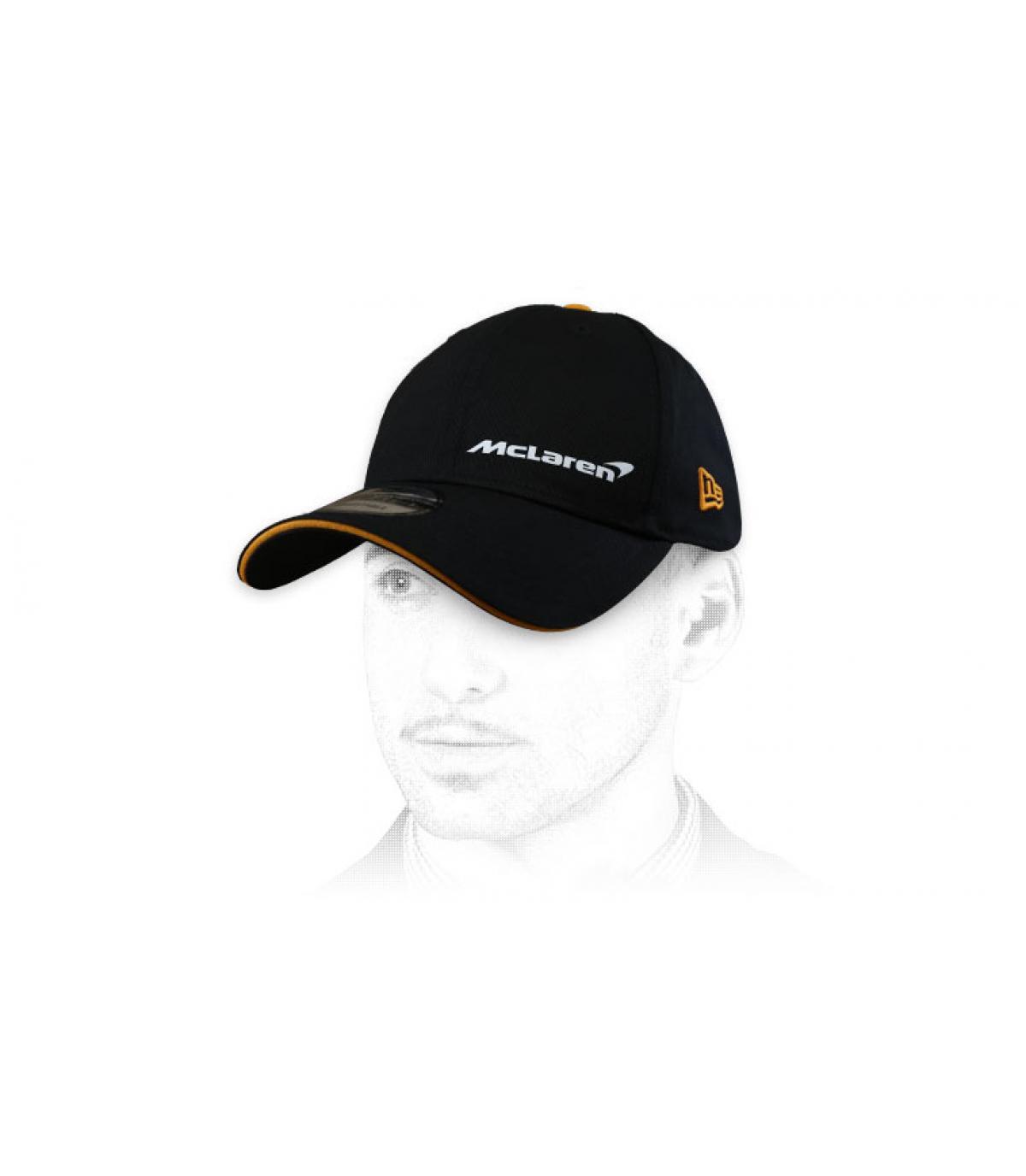 Cap McLaren schwarz