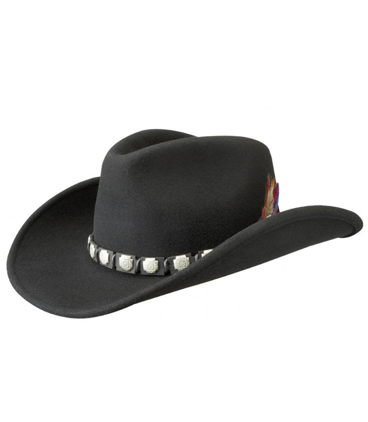 Cowboy Hut Filz Wolle