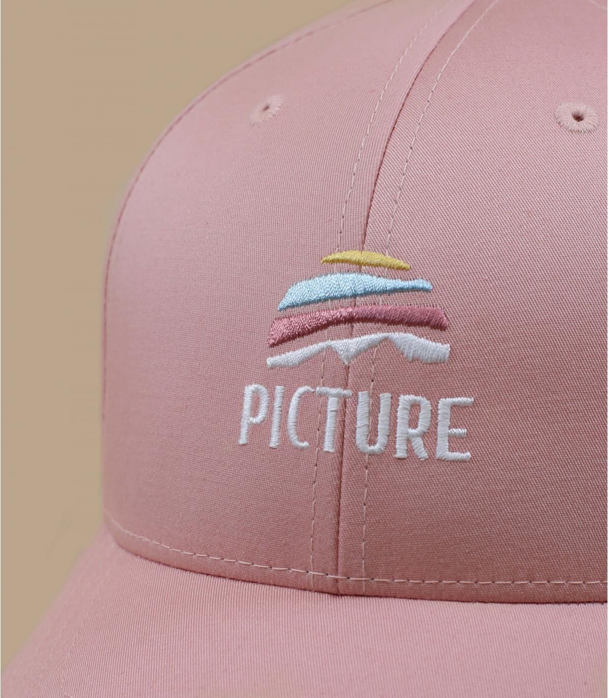 Picture Cap rosa