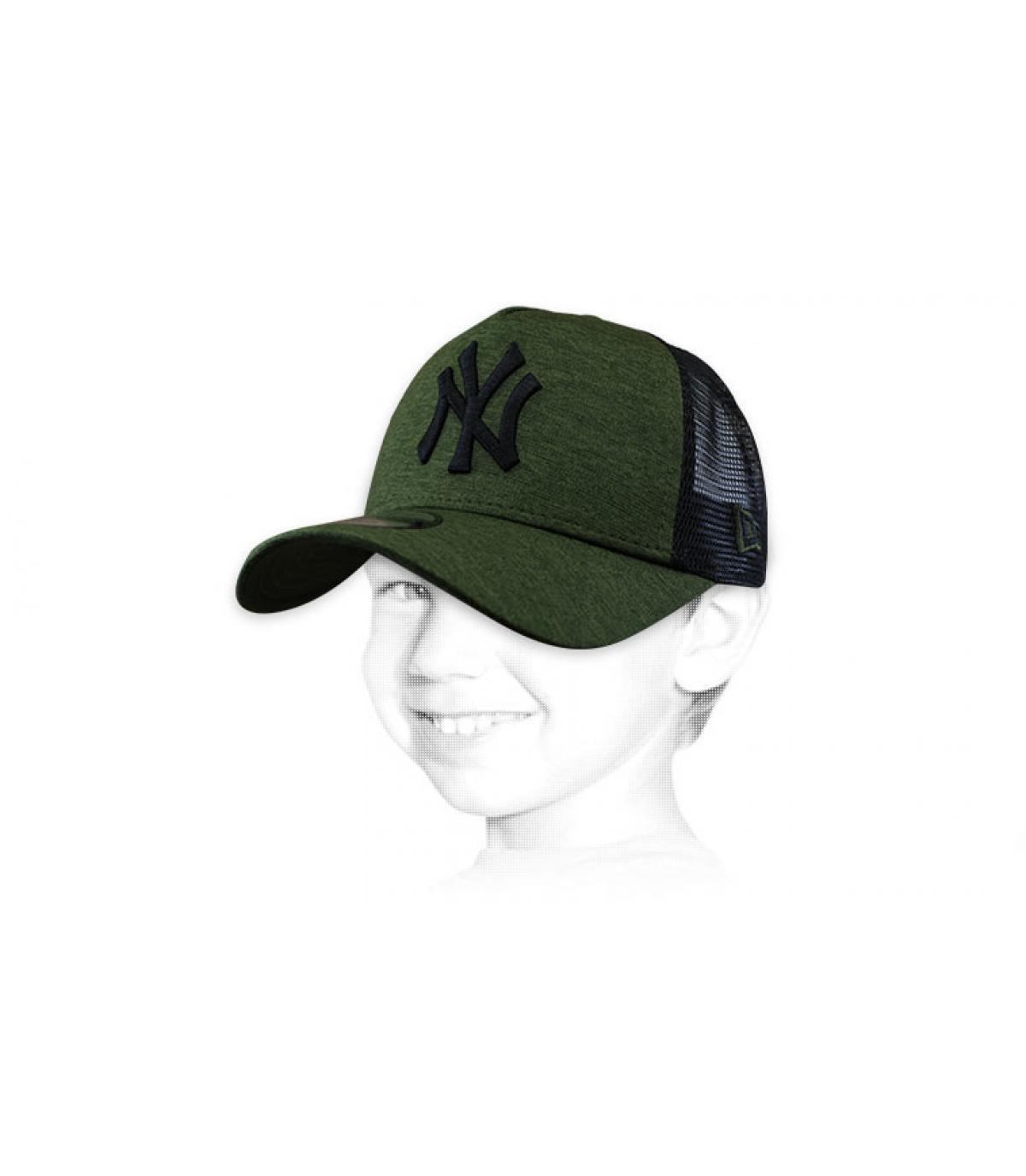 Kinder Trucker  NY grün