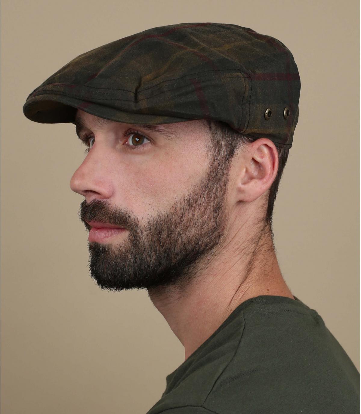 Beret Cap tartan