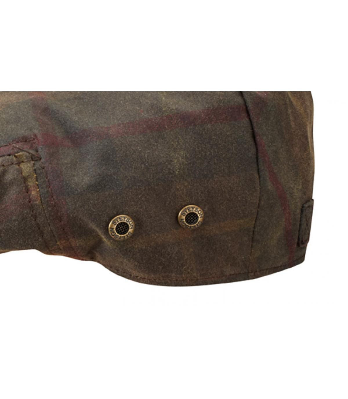Details Adin wax tartan - Abbildung 3