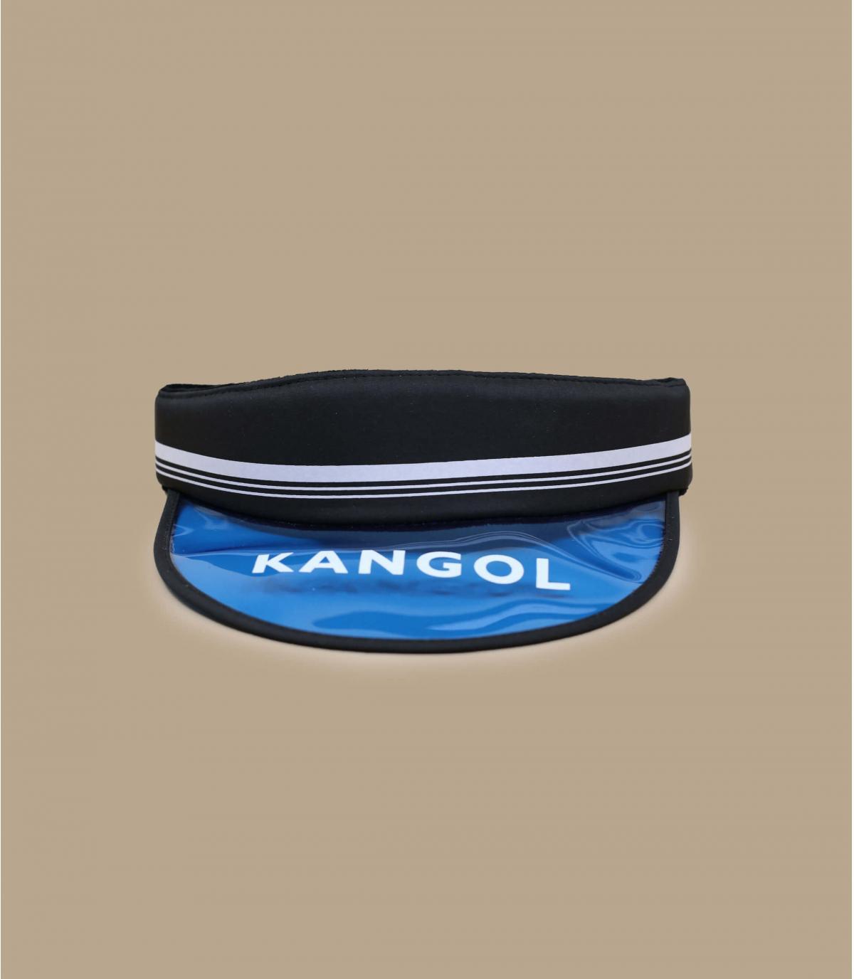 Visor Cap Kangol blau schwarz