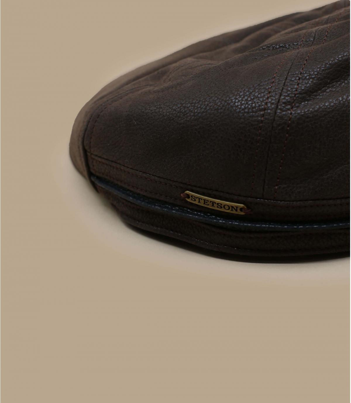 Details Redding Earflap Cowhide braun - Abbildung 2