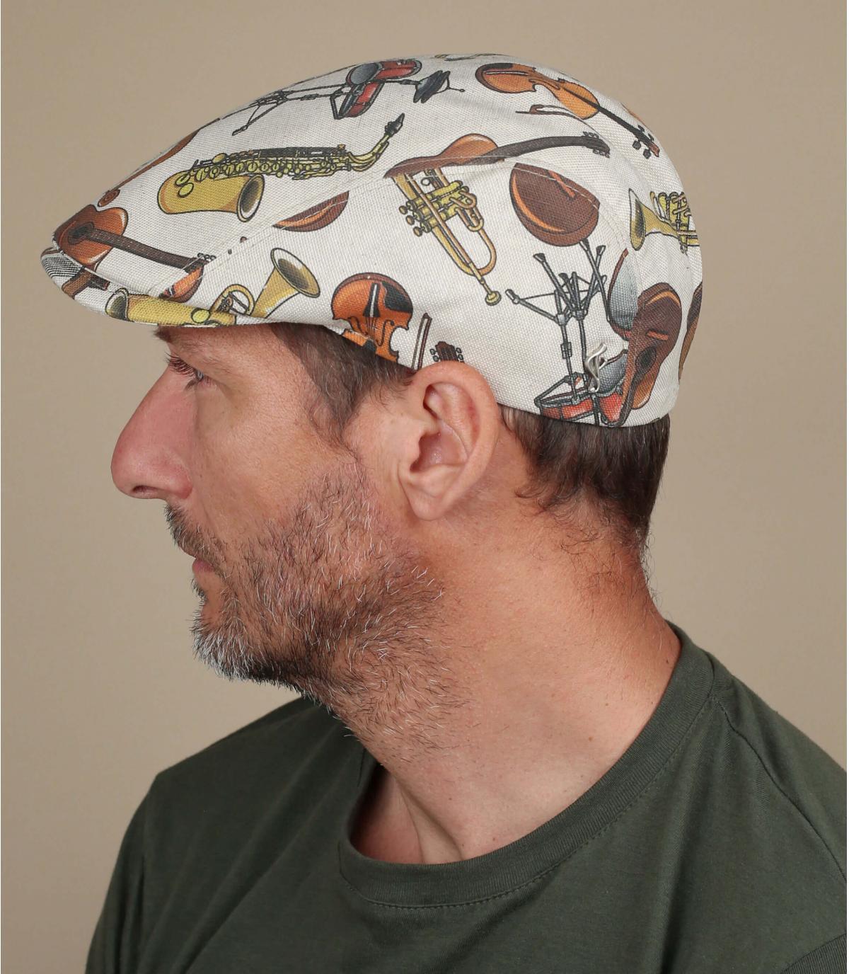 Flatcap Musik Print