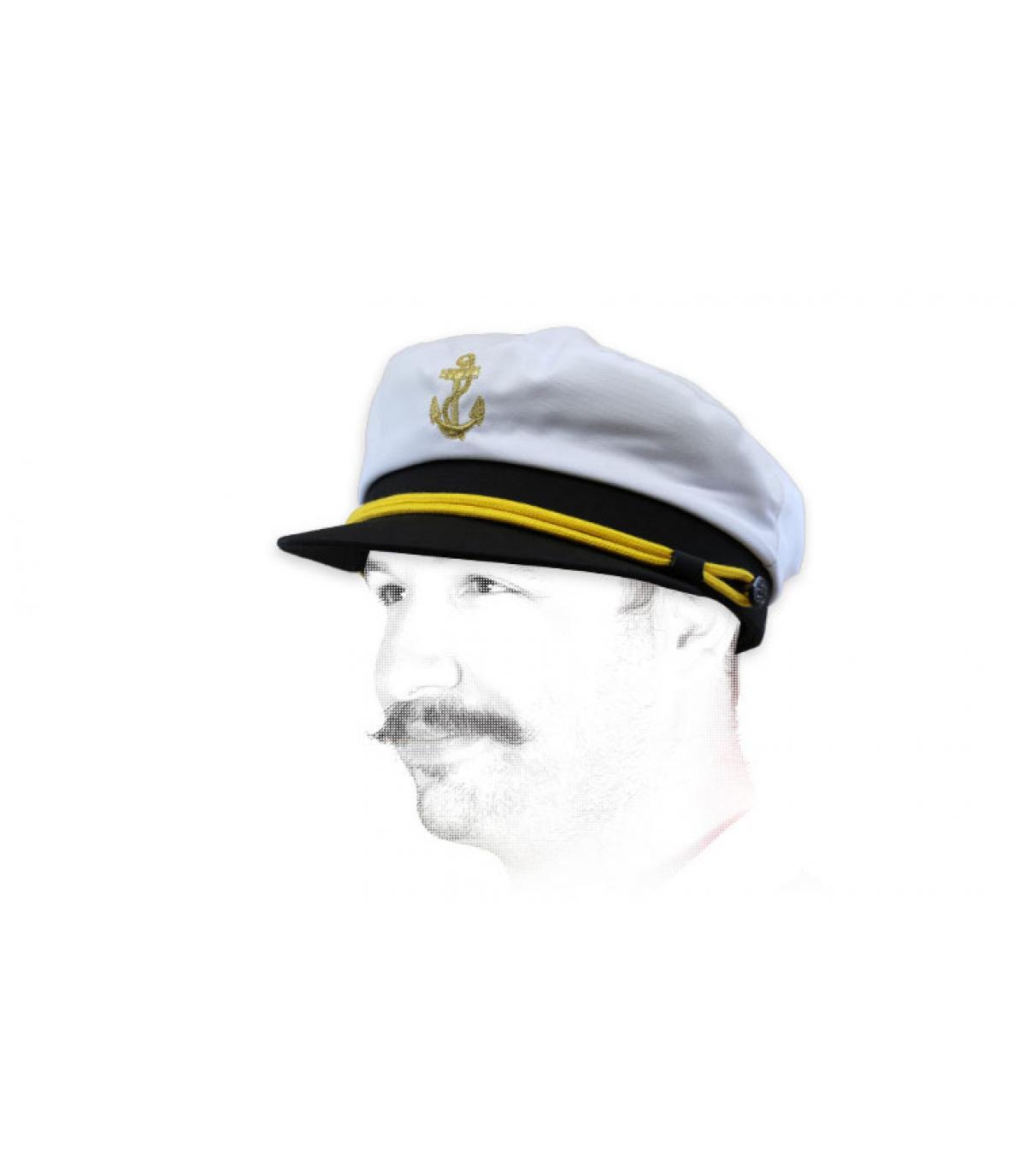 Seemanns Cap weiß