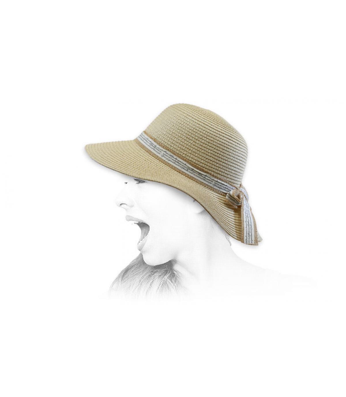 Capeline Stroh beige