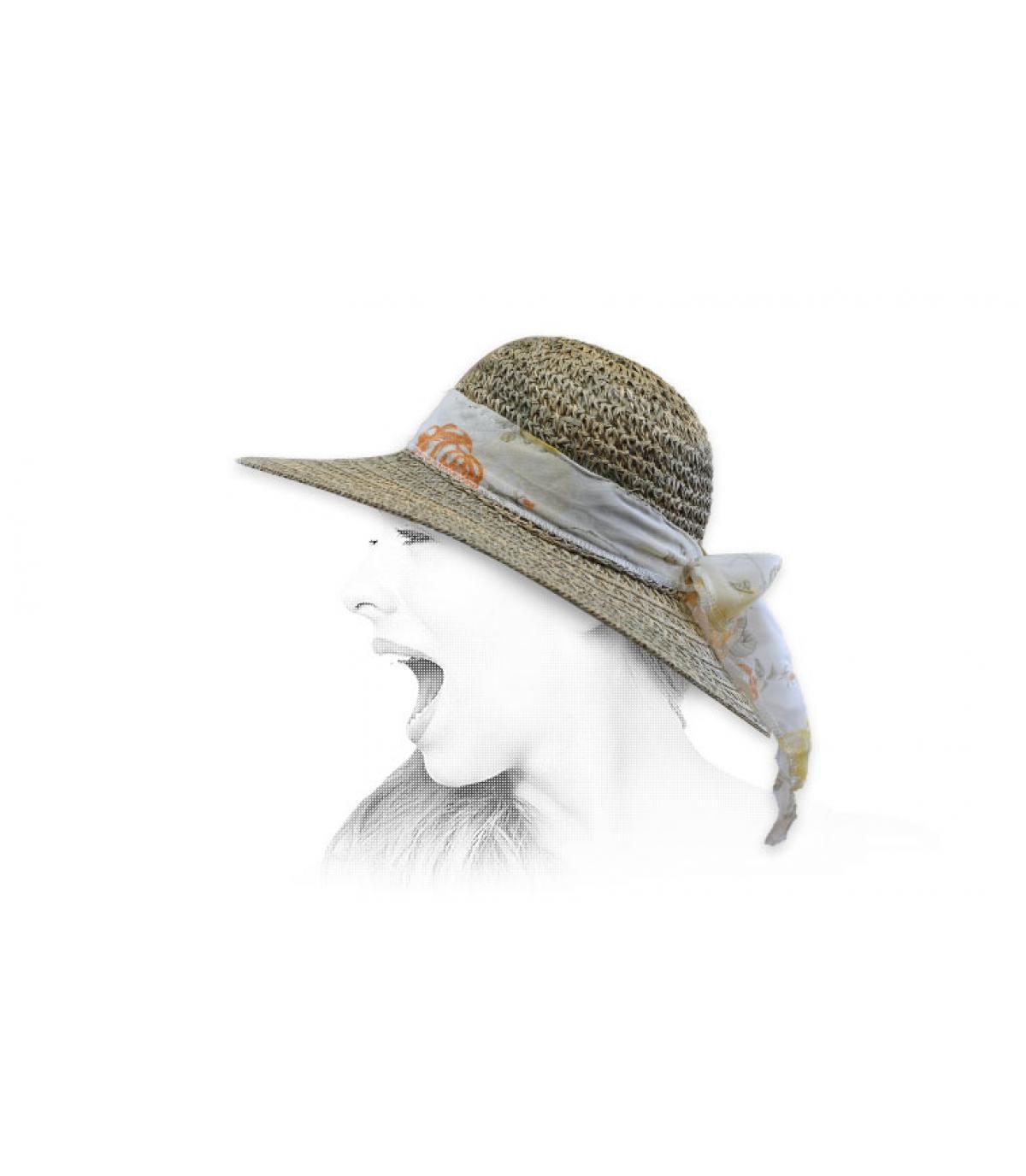 Capeline Strohhut lufdurchlässig