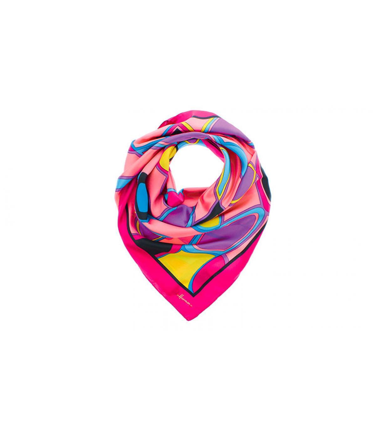 Quadratisches Tuch rosa