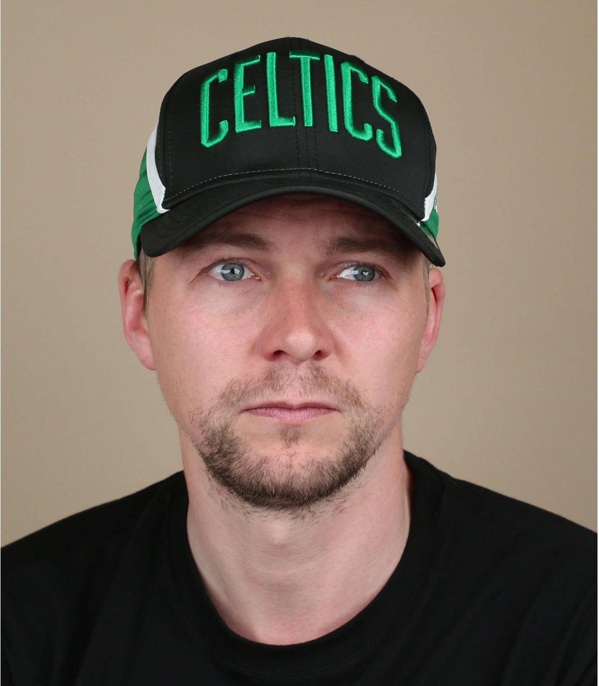 Cap Celtics schwarz grün